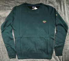Paul Shark Yachting Pullover sweater  Long Sleeve Color Green  Size: L