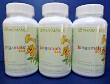 Three pack: Nu Skin Nuskin Pharmanex Jungamals SCS 90 Tablets SEALED x3
