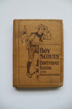 More details for boy scouts' birthday book and remembrancer, rare, ca. 1911, antique.