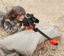 NEW 2018 Nerf Gun/ 15 pcs Soft Bullet Military Sniper! Kids Gift Sniper Weapon