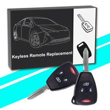 2 for Chrysler Pacifica 2004 2005 2006 2007 2008 keyless entry remote key fob