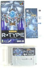 SUPER R-TYPE Nintendo Super Famicom SFC SNES Jap Japan (1)