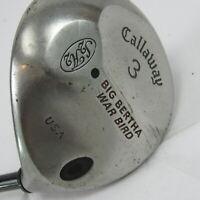 Callaway Big Bertha War Bird 3 Wood RCH Regular Flex Shaft RH Mens Golf Club