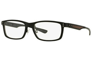 Oakley PLANK Eyeglasses OX3090 22-193 Matte Black Frame W/ RX Demo Lens NEW