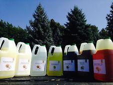 7 LBS  PURE 100% ORGANIC UNREFINED RICE BRAN OIL COLD PRESSED