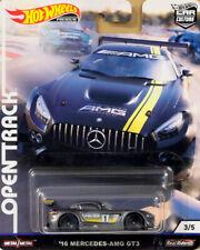 '16 Mercedes-Benz AMG GT3 Open Track 3/5 Car Culture 1:64 Hot Wheels FYN62 FPY86