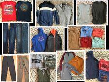 28 pc. Boys Clothing Lot Under Armour Levi's Polo Old Navy- Size XL, XXL, 16, 18