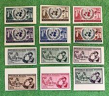 Republik Maluku Selatan - Republic of South Moluccas - Lot of 12 IMPERF & GIFT!