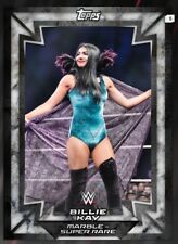 2018 Topps WWE Slam MARBLE VARIANT BILLIE KAY [DIGITAL CARD]