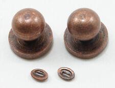 Dollhouse Miniatures 1:12 Scale Door Knob with Keyhole, 4/Pk #Cla05609