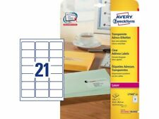 525 Labels per pack - Avery J8169-100 Parcel Labels, 63.5 x 38.1 mm Free P&P!