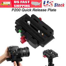 Connect Adapter Mount w/ Quick Release Plate For Manfrotto 701HDV / 577 Tripod