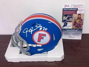 Janoris Jenkins Florida Gators Autographed Mini Helmet JSA COA N1