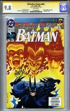 DETECTIVE COMICS #661 CGC 9.8 SS KELLEY JONES (Knightfall pt. 6 Joker & Riddler)