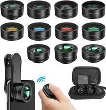 12 in 1 Upgraded Photography Set for iPhone 11 and Any Smartphone. Plus Remote.