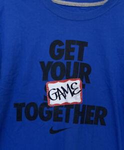 Nike Get Your Game Together Men's Blue  T SHIRT Size L