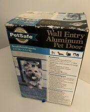 PetSafe Wall Entry Aluminum Pet Door Small Up to 12 Lb M413-211-11