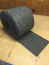 """12 oz Bunk / Carpet for PWC / BOAT Trailer - CHARCOAL 12"""" wide - Marine/Outdoor"""