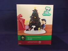 "Department 56 Peanuts ""O' Christmas Tree"" Village Accessory"