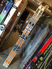 New listing Vintage Rossignol ROC Competion GS Raçe skis w/ Salomon 555 ski bindings