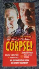 COLIN BAKER  - DR WHO   - THEATRE FLYER  SIGNED. (89) DEDICATED