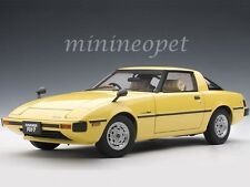 AUTOart 75983 MAZDA RX-7 (SA) SAVANNA 1/18 DIECAST MODEL CAR SPARK YELLOW
