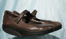 MBT Brown Leather Mary Janes Shoes US 9.5 EUR 40.5 UK 6.5 mm 266
