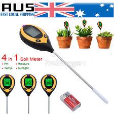 4 in 1 PH Tester Soil Water Moisture Light Test Meter for Garden Plant Good
