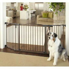 North States Extra Wide Bronze Auto-Close Angle Mount Baby Pet Child Gate NS4934