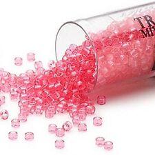 1,000 Little Miyuki Delica Transparent 11/0 Round Glass Seed Beads in 5 Gram