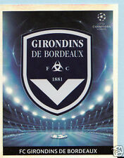 Football Sticker- Panini Uefa Champions League 2009-10 - No 39 - Bordeaux Badge