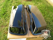 Pair Unpainted Hard Saddlebag LIDS for Harley-Davidson Touring Bags
