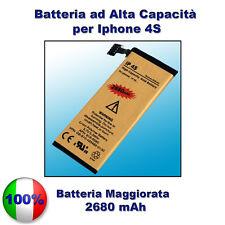 Batteria PER IPHONE 4S 2680mAH MAGGIORATA - ZERO CICLI