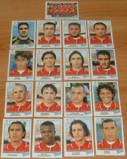PANINI FOOTBALL CHAMPIONS LEAGUE 1999-2000 OLYMPIAKOS PIREE COMPLET HELLAS