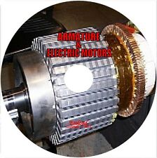 Electric Motors ARMATURE Design, Construction, Winding - The main books on CD