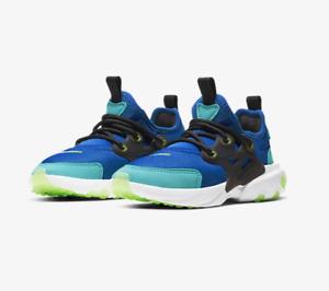 Nike RT Presto (TD) BQ4004 403 Game Royal/Ghost Green-Black New Toddler Size 8c