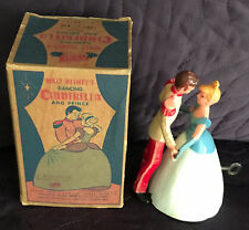 IRWIN  WALT DISNEY'S  WALTZING  CINDERELLA AND PRINCE  DANCING  BOXED  C. 1950'S
