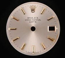 Rolex Lady Date Silver Dial Gold Stick & Crown Marker-T Swiss Made T-69173/69178
