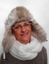 Señora caballero gorra tschapka mcburn GR 58 ski viento cálido invierno gorro piel sintética