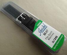 New Universal 18mm Regular Mens Black Speidel Express Sport Watch Band Strap