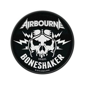 """AIRBOURNE - """"BONESHAKER"""" - WOVEN SEW ON PATCH"""