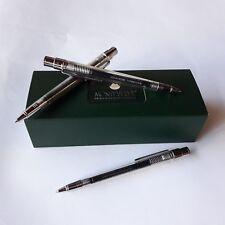 Lot of 12 KUGELZ Broad Tip Black Gel Ink Rollerball Pens Comfort Grip-GREAT PEN