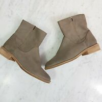[ COUNTRY ROAD ] Womens Suede Leather Ankle Boots / Shoes | Size EUR 36