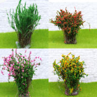 Mini Bush Trees DIY sand table model accessory Street Scenery Layout LandscapWA