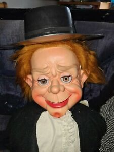 Vintage Professional Puppet In Case