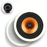 Micca M-8C 8-Inch 2-Way In-Ceiling In-Wall Speaker With Pivoting 1-Inch Silk