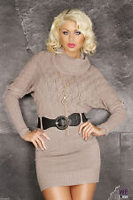 Full Length Viscose Cowl Neck Dresses for Women
