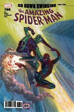 THE AMAZING SPIDER-MAN #798 LEG MAIN ROSS COVER MARVEL GRADE 9.2 NM- 2018
