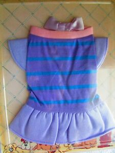 Vintage 1985 Tonka Pound Puppies Outfits Dance Dress, FACTORY SEALED