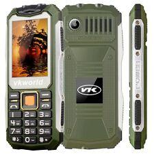 4GB Móvil Impermeable a prueba de polvo Smartphone Dual SIM Cámara Espía Arbeit